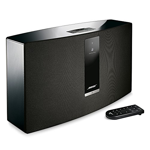 Bose SoundTouch 30 wireless speaker, works with Alexa, Black – 738102-1100