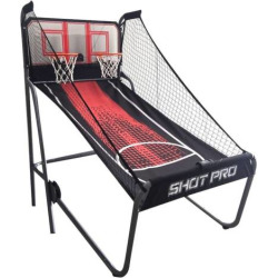 Hathaway Shot Pro Deluxe Electronic Basketball Game, Multicolor