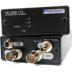 MultiDyne 3 Gbps Multi-Rate Serial Digital Video Transmitter S HD-3000-1TX-ST