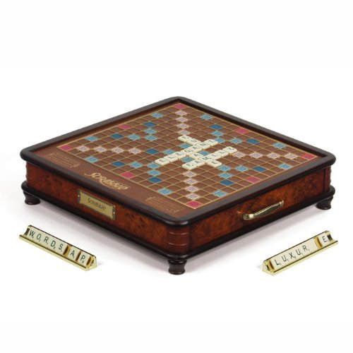 Scrabble Luxury Edition Board Game