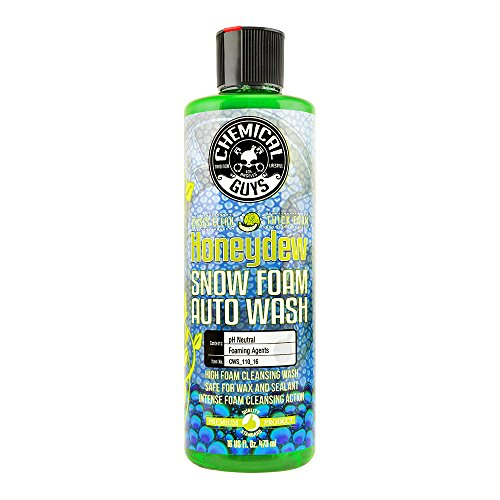 Chemical Guys CWS_110_16C12 Honeydew Snow Foam Car Wash Soap and Cleanser (16 oz) (Case of 12)