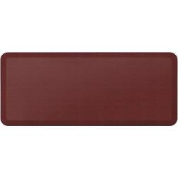 Newlife By Gelpro Designer Comfort Kitchen Mat – Grasscloth Crimson (Red) – 20X48