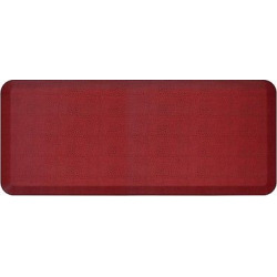 Newlife By Gelpro Comfort Kitchen Mat – Pebble Pomegranate – 20″X48″, Pomegranate Mystery
