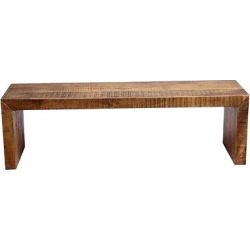 Emmerson Solid Mango Wood 60 Bench – Timbergirl, Brown
