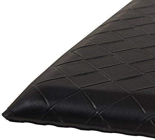 AmazonBasics Premium Anti-Fatigue Standing Mat – 20×36-Inches, Black, 5-Pack