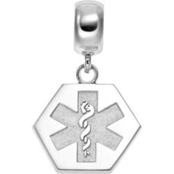 insignia collection sterling silver medical alert charm multicolor - Allshopathome-Best Price Comparison Website,Compare Prices & Save