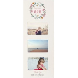 Mother's Day White Multi Photo Frame