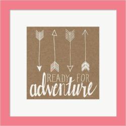 "Metaverse Art ""Ready for Adventure"" Framed Wall Art, Multicolor"