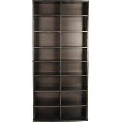 Oskar Media Rack Espresso 54 – Atlantic
