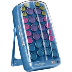 BaByliss Pro Nano Titanium Professional Ionic 30 Hair Rollers, Multicolor