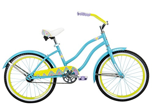Huffy 20″ Good Vibrations Girls' Cruiser Bike