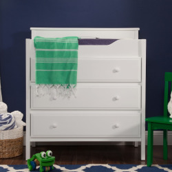 DaVinci Jayden 3-Drawer Changer Dresser, White