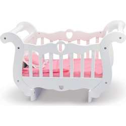 melissa and doug wooden doll crib multicolor - Allshopathome-Best Price Comparison Website,Compare Prices & Save