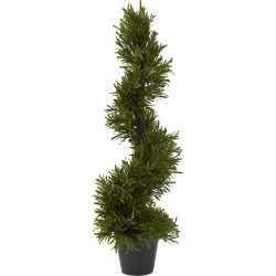 nearly natural 30 in rosemary spiral tree indoor and outdoor green - Allshopathome-Best Price Comparison Website,Compare Prices & Save