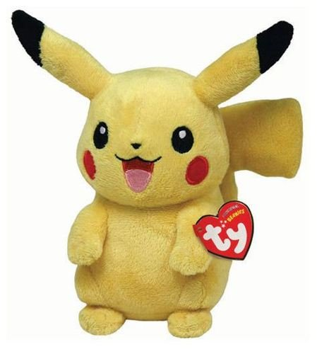 Ty Pokemon Beanie Baby Plush Pikachu
