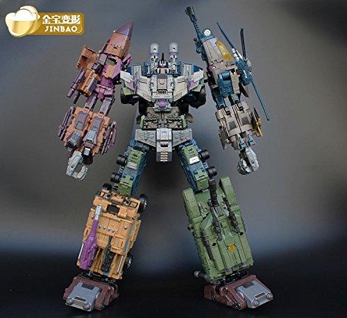 Transformers JinBao Warbotron Bruticus Decepticons Oversized