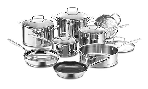Cuisinart 89-13 13-Piece Professional Stainless Cookware