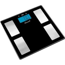 Personal Scale Black/Silver – Escali, Clear