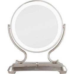 Zadro Super Bright Surround Light Dimmable Glamour Mirror 5X/1X, Silver