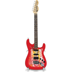 Detroit Red Wings NorthEnder Collector Series Mini Replica Electric Guitar, Multicolor