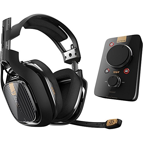ASTRO Gaming A40 TR Headset + MixAmp Pro TR for PlayStation 4 (Certified Refurbished)