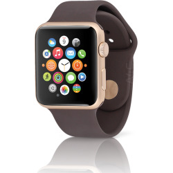 Apple Watch Sport Series 2 w/ 42mm Aluminum Gold Case – Cocoa (Used)