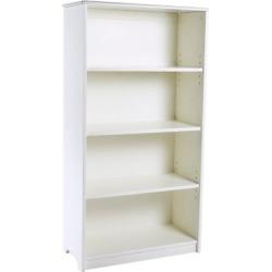 Kids Tall Bookshelf – White – Guidecraft, Espresso Brown