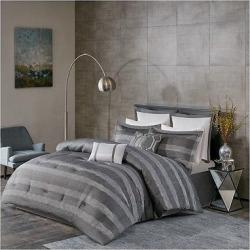 Gray Porter Comforter Set (King) 8pc