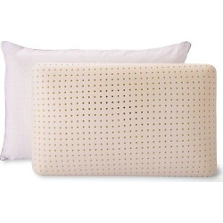 Low Profile Memory Foam Pillow 2pk – Authentic Comfort, White