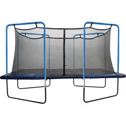 Upper Bounce 13-ft. Square 4-Arch Trampoline Enclosure Net, Multicolor