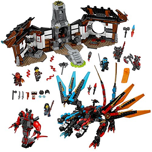 LEGO NINJAGO Dragon's Forge 70627 Fun Toy