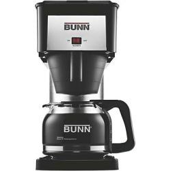 Bunn BX-D Velocity Brew 10-Cup Coffee Brewer, High Altitude, Black/Silver