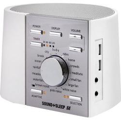 Sound+Sleep Special Edition Adaptive Sound System White/Silver