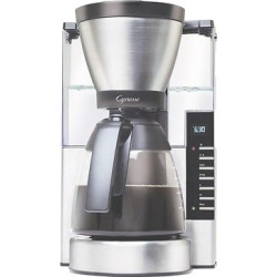 Capresso MG900 10-Cup Rapid Brew Coffee Maker Stainless Steel with Glass Carafe – 497.05, Silver