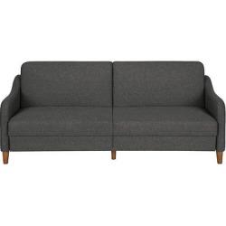 Jasper Coil Futon – Gray Linen – Dorel Home Products
