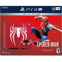 Sony Playstation 4 Pro 1TB Console – Marvel's Spid