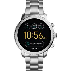 Fossil Q Explorist Gen 3 Stainless Steel Smart Watch – FTW4000, Men's, Size: Large, Grey