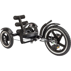 Kids Mobo Mobito Sport Three-Wheeled Cruiser, Black