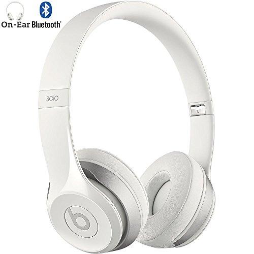 Beats By Dre Solo2 Wireless On-Ear Headphone, MHNM2ZM/A – (Certified Refurbished) (White)