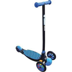 Youth Yvolution Y-Glider Deluxe 1.0 Three-Wheeled Scooter, Blue