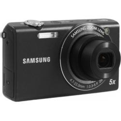 Samsung SH100 14-Megapixel Wi-Fi Digital Camera – Black (Refurbished)