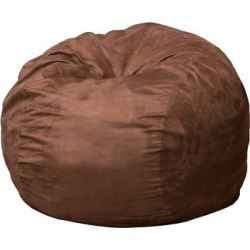 Paige Bean Bag – French Roast – Christopher Knight Home