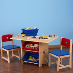 KidKraft Star Table and Chair Set, Multicolor