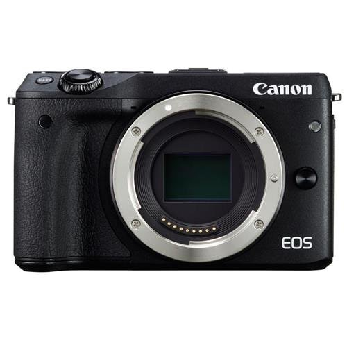 Canon EOS M3 Mirrorless Camera Body – Wi-Fi Enabled (Black)