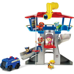 Paw Patrol Lookout Playset with 6 Pup Figures, Multicolor