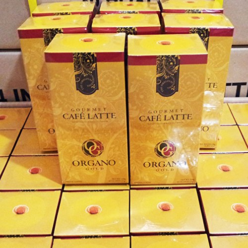 8 Boxes Organo Gold Gourmet Cafe Latte with 100% Organic Ganoderma Lucidum Extract – HOS