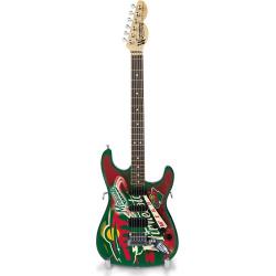 Minnesota Wild NorthEnder Collector Series Mini Replica Electric Guitar, Multicolor