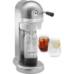 KitchenAid KSS1121 Sparkling Beverage Maker Powered by SodaStream Soda Maker, Grey