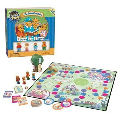Tales to Play Berenstain Bears Learn to Share Game by Patch Products Inc.
