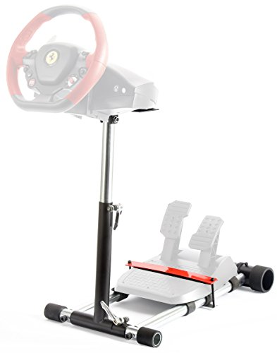 Wheel Stand Pro F458 Steering Wheelstand 4 Thrustmaster 458 (Xbox 360 Version), F458 Spider (Xbox One), T80,T100, RGT, Ferrari GT,F430; Logitech Driving Force GT wheel. V2: Wheel/Pedals Not included